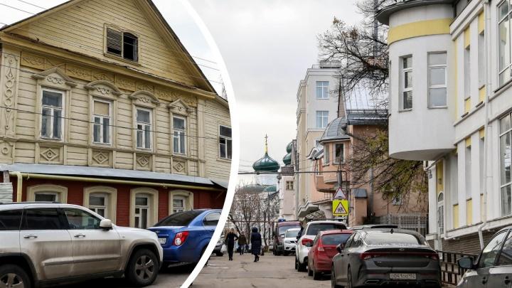 История одной улицы: гуляем по Започаинью — Плотничному переулку