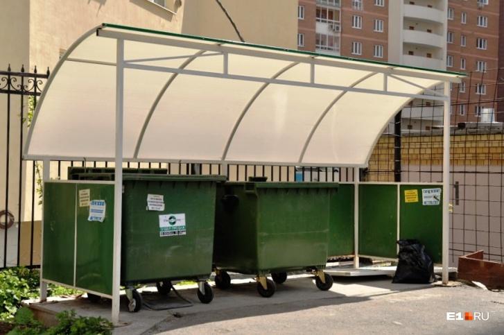 Скоро на площадках появятся контейнеры разного цвета