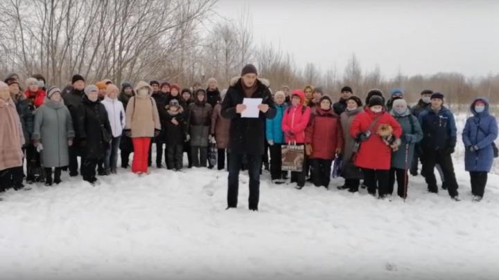 Недовольные застройкой «Квартала100» северодвинцы записали видеообращение к губернатору Поморья