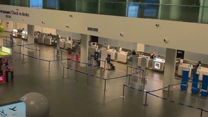 COVID-апокалипсис: как выглядит аэропорт Курумоч во время пандемии