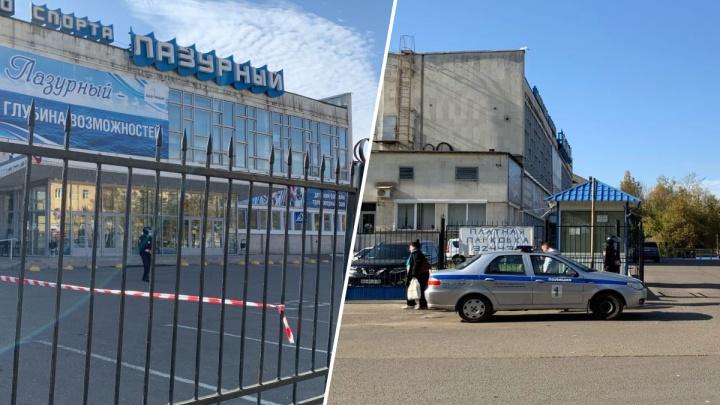 «Вывели на улицу не всех»: в Ярославле эвакуировали крупный спорткомплекс