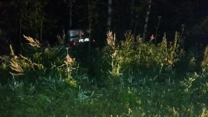 Под Тобольском пьяный пассажир схватился за руль водителя и устроил ДТП