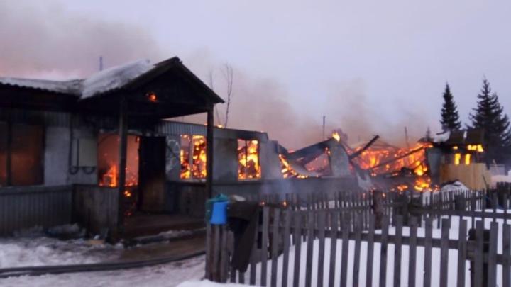 В жилом доме в Курагино взорвался газовый баллон