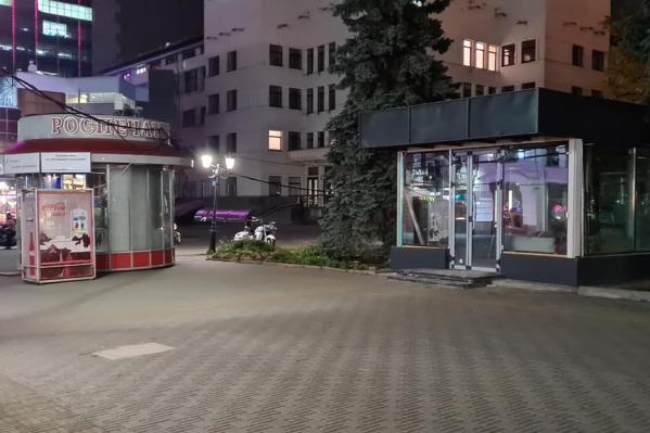 Скандал разразился из-за серого киоска на Кировке