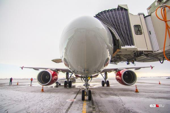 Расписание самолетов изменится в апреле