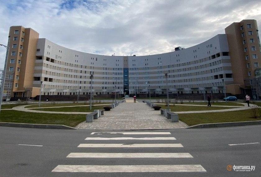 Больница им. Боткина в Петербурге
