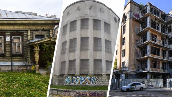 Заброшенный Екатеринбург. Пять домов-памятников, которые нужно спасать прямо сейчас