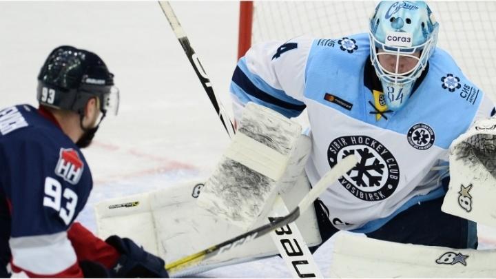 ХК «Сибирь» проиграл нижегородскому «Торпедо» в гостевом матче