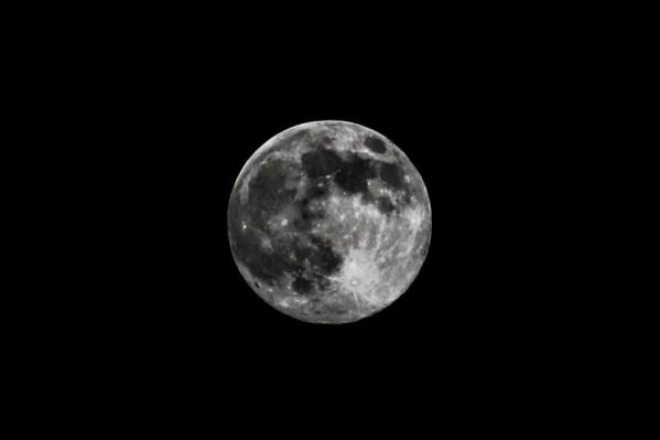 Сегодня самая большая Луна в 2020 году