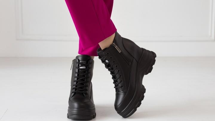 Красноярцам дали осенний лайфхак: где купить стильную обувь со скидкой до 70%