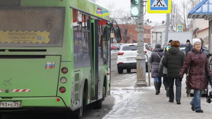 В Архангельске введут нерегулируемый тариф для автобусного маршрута №180