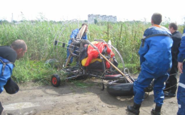 В Кургане осудили владельца паралёта, упавшего с пассажиром в болото