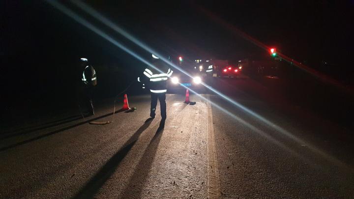 На Полевском тракте Mitsubishi насмерть сбила пешехода
