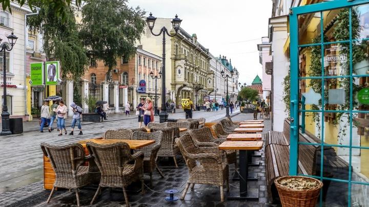 С сегодняшнего дня в Нижнем Новгороде открываются кафе