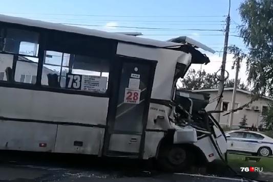 ДТП произошло на проспекте Авиаторов в Заволжском районе