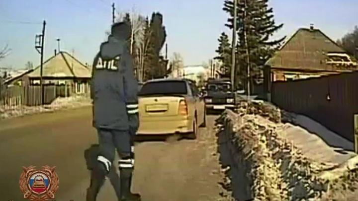 На юге края инспекторы наткнулись на машину-двойника из Амурской области