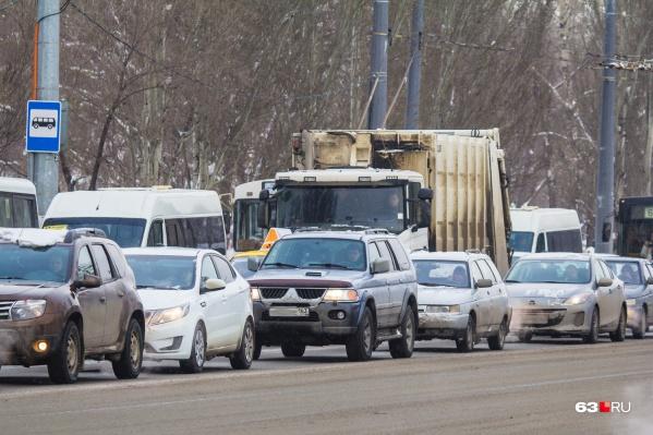 Основным загрязнителем воздуха в Самаре являются как раз выхлопные газы