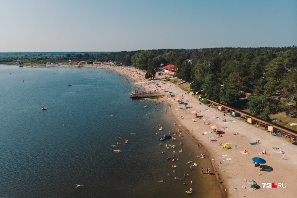 Только три водоема официально получили разрешение на купание в этом году