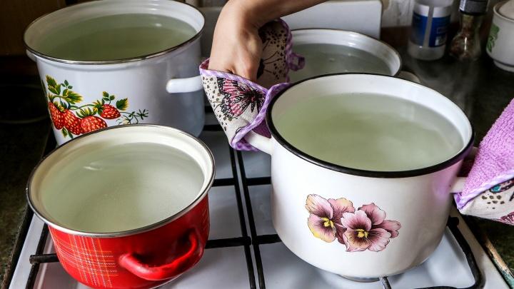 Почти 9 тысяч нижегородцев остались без горячей воды