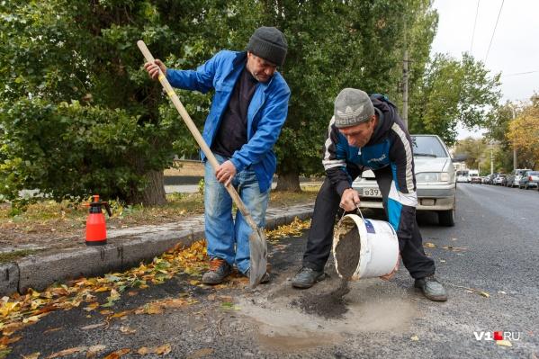 Горожане засомневались в качестве дорожного ремонта
