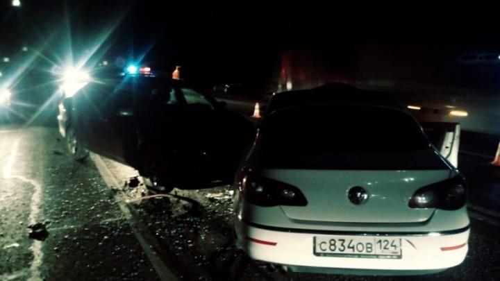 В массовой аварии под Минусинском, устроенной пьяным водителем, погиб пенсионер