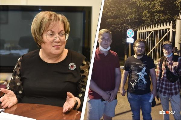 Татьяна Мерзлякова считает, что полицию нельзя подпускать к оппозиционерам