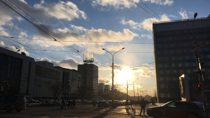 Выходные в Прикамье будут тёплыми и солнечными
