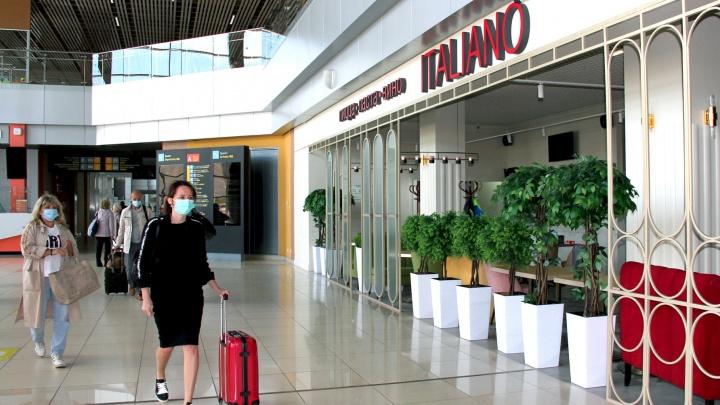 В аэропорту Кольцово снова открылись кафе и рестораны