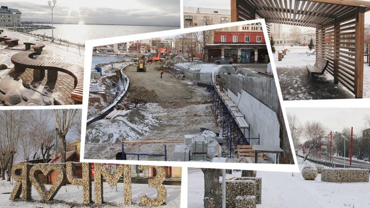 11 скверов и набережная-призрак: показываем, на что власти Челябинска потратили более полумиллиарда рублей