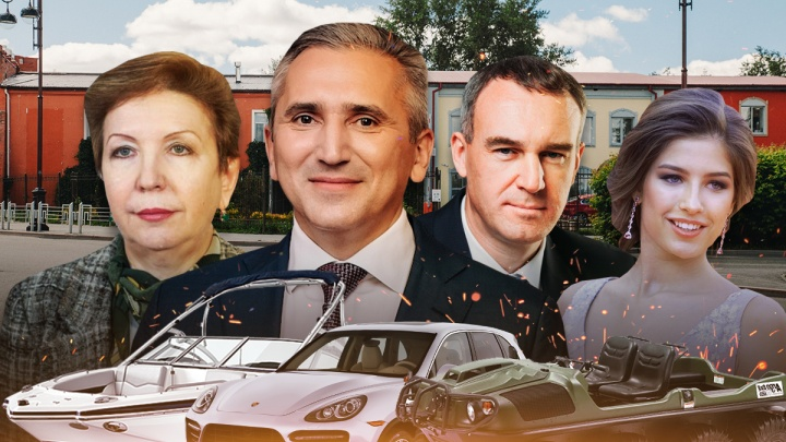 От боссов департаментов до губернатора: ВИП-гаражи тюменских чиновников и госслужащих