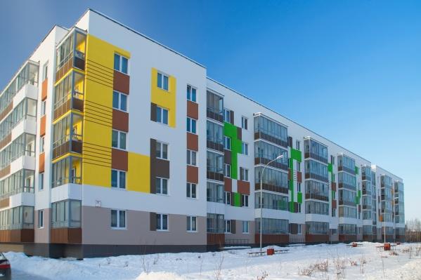 В микрорайоне Мичуринском построено уже 50 домов