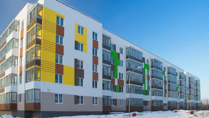 В малоэтажном Мичуринском построено уже 50 домов