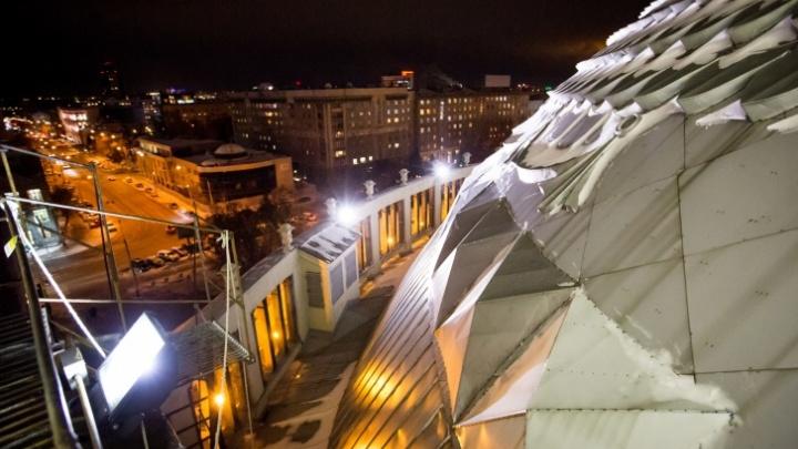 Новосибирский театр оперы и балета готовится к ремонту купола и балетного крыла