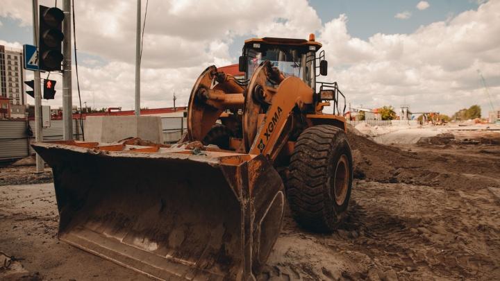 В Тюмени спроектируют путепровод через железную дорогу за 30 миллионов. Он появится в районе Дома обороны