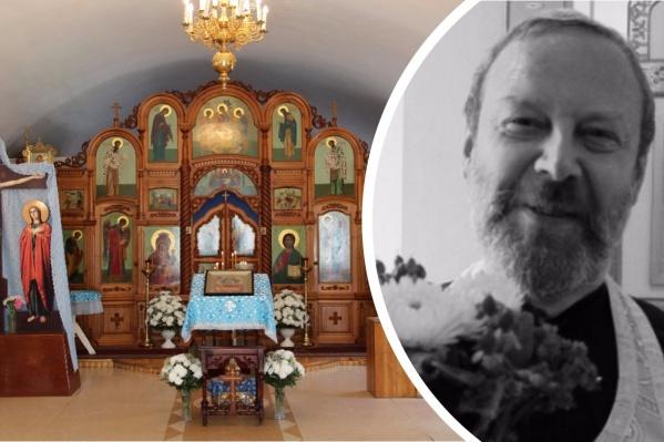 Андрей Федоров был настоятелем подворья в честь иконы Божией Матери «Скоропослушница» на станции Мочище