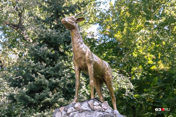 Дикая белая коза является символом Самары