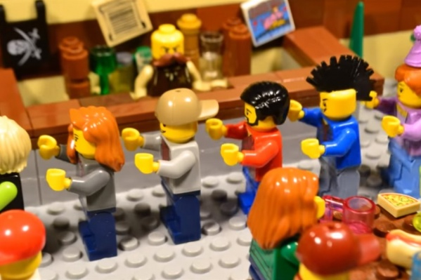Это кадр из клипа группы «Стас Ленин Band», который снималАлександр Вахранев