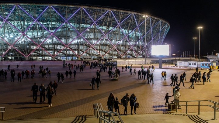 В Волгограде матч «Ротор» — «Рубин» побил антирекорд посещаемости Премьер-Лиги