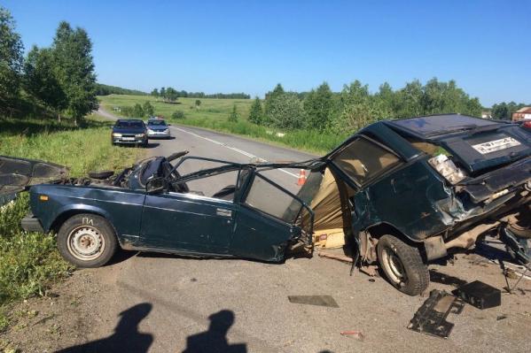 В машине ехали четверо парней из посёлка Ирша Рыбинского района