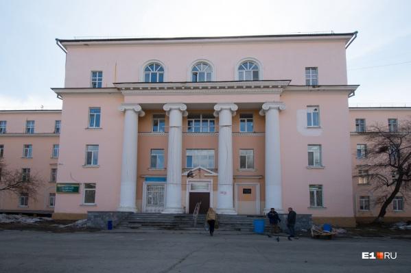 Корпуса больницы сменят цвет фасада