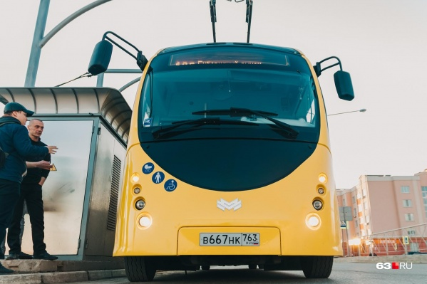Транспорт тестируют в Самаре уже больше 4 месяцев