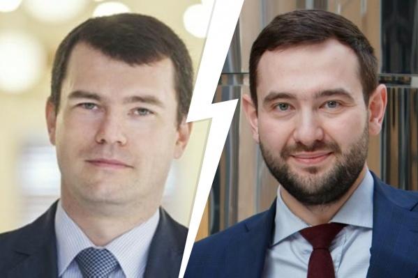 Леонид Остроумов (слева) и Антон Машуков (справа) стали директорами департаментов