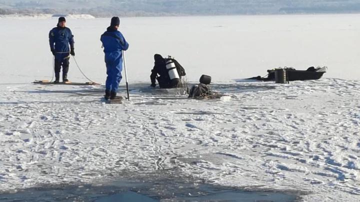 Спасатели нашли мужчину, провалившегося под лед на озере Кандрыкуль в Башкирии