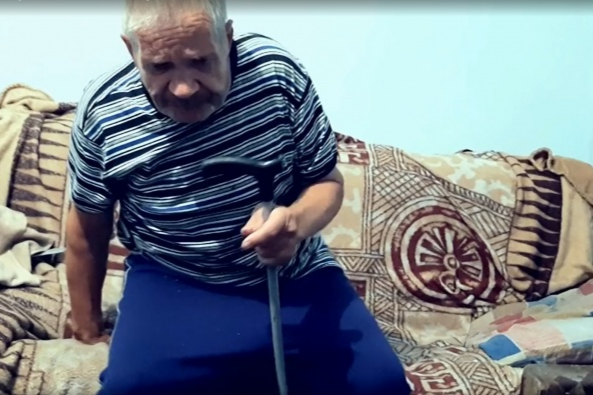 Вениамин Тарасович — пенсионер, которого обвиняют в убийстве