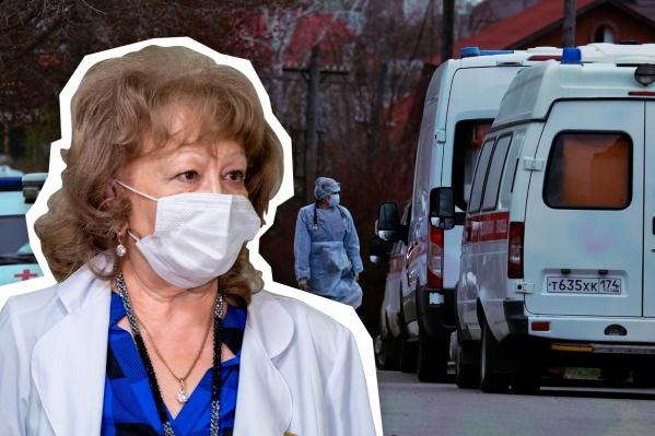 Наталья Уральшина — один из главных специалистов по эпидемиологии в Челябинске