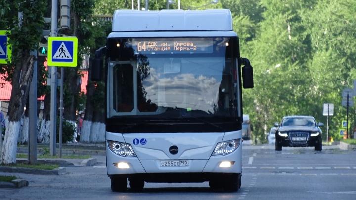 В Перми часть автобусов маршрута № 64 перенаправят в Ласьвинские хутора