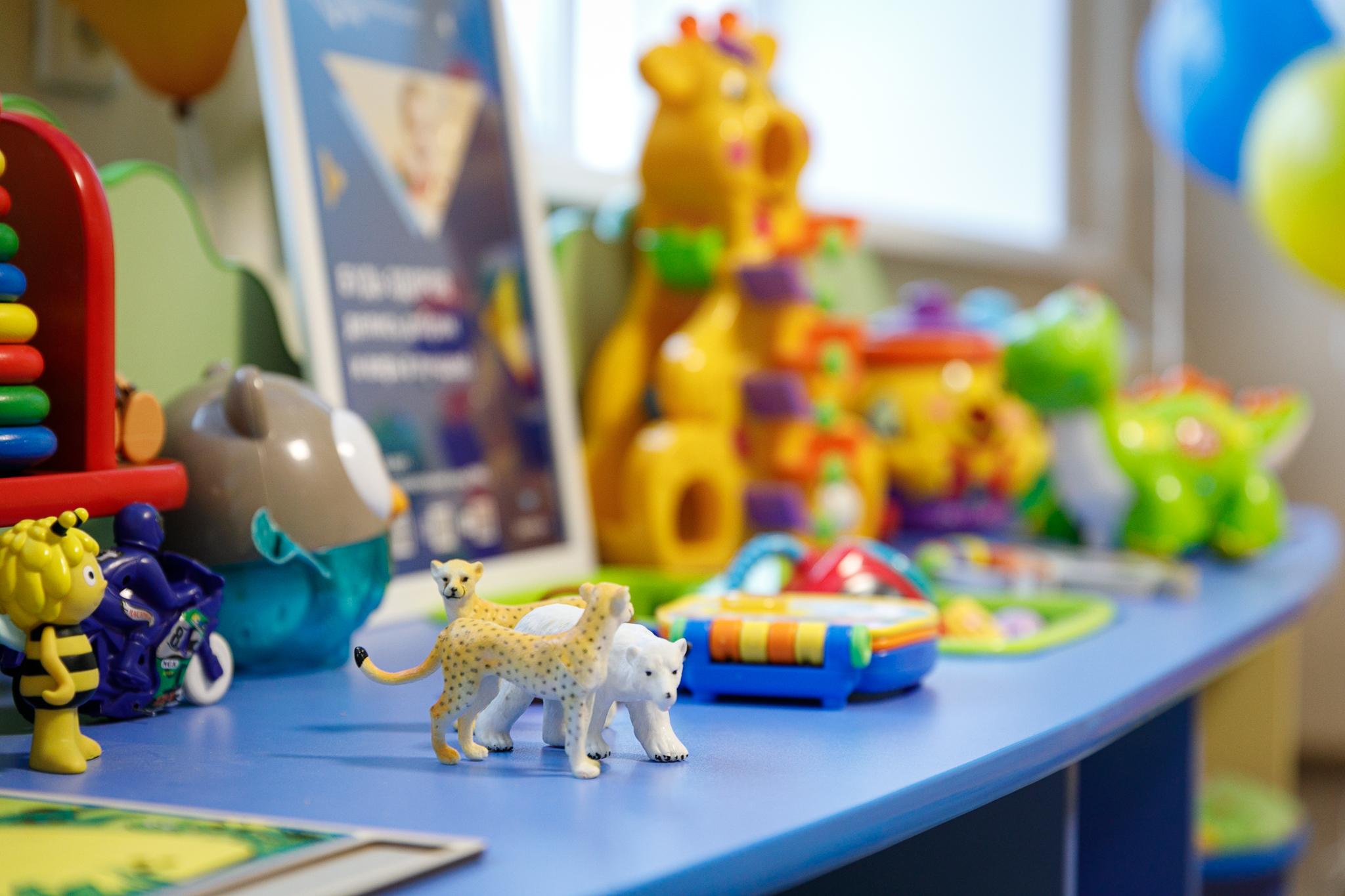Все игрушки легко мыть и дезинфицировать
