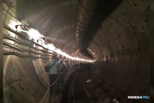 Часть тоннелей подземки сейчас законсервирована