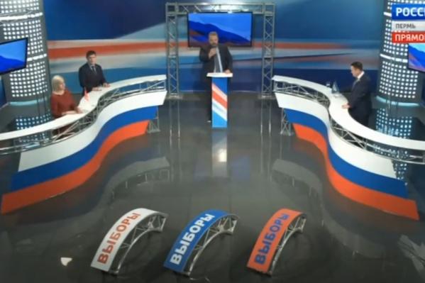 Это первые дебаты, в которых участвует действующий глава региона