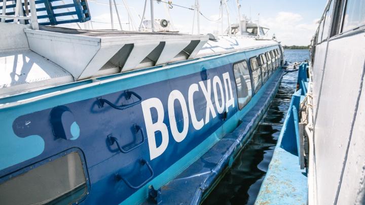 В Самаре в навигацию-2021 скоростные суда «Восход» запускать не будут